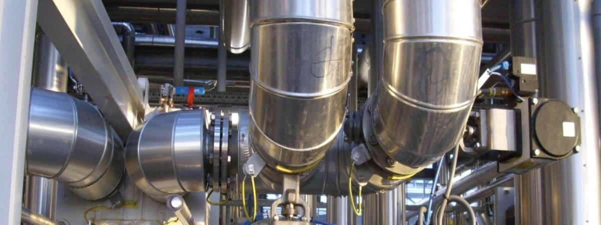 Coibentazioni di tubazioni industriali e civili